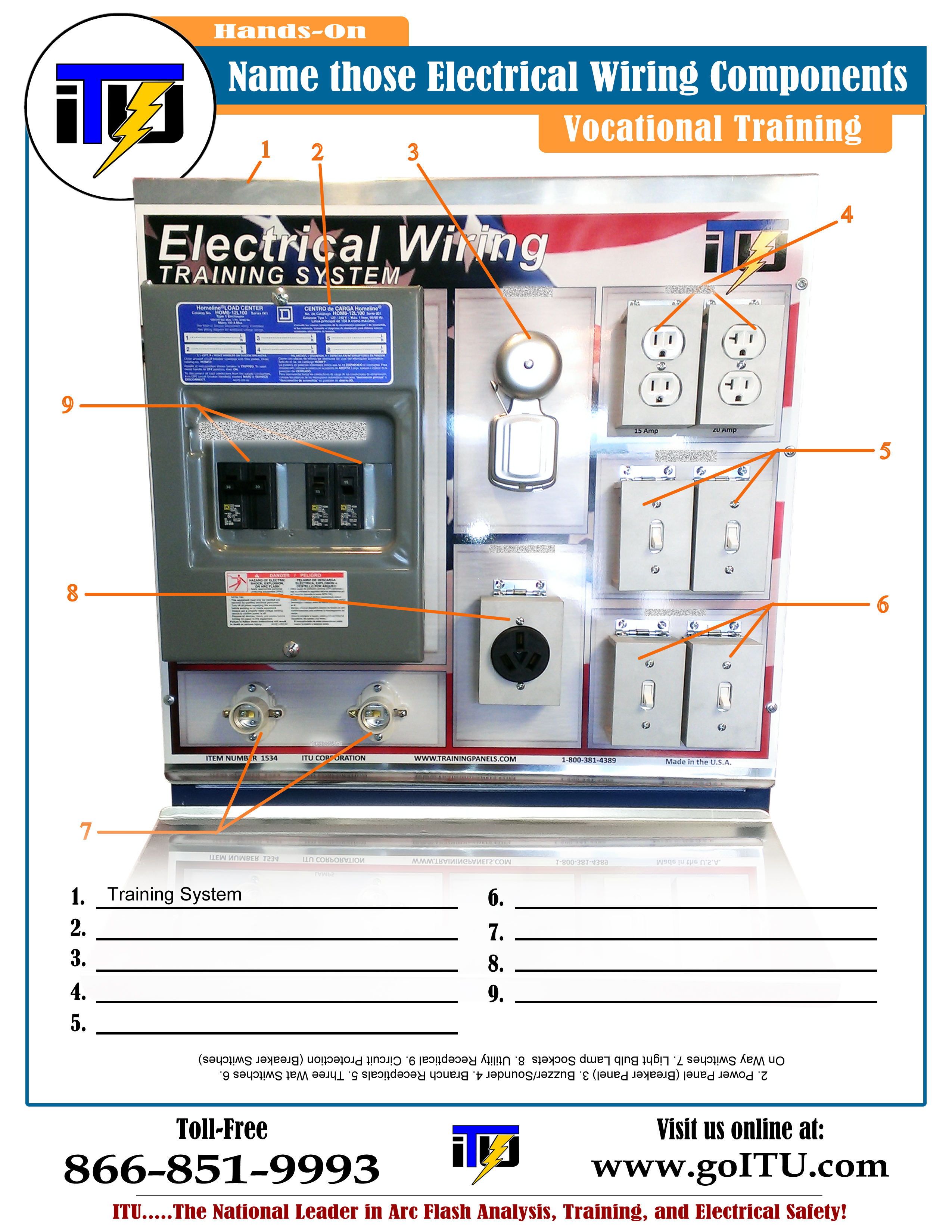 Electrical Wiring Component Guide (Free) | Free Safety & Training ...